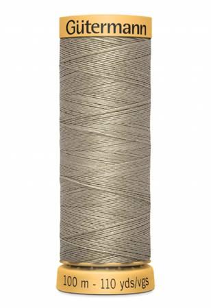 Natural Cotton Thread 100m/109yds Khaki