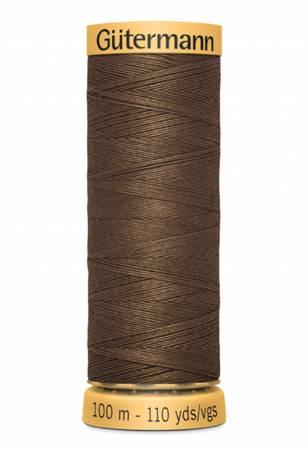 Natural Cotton Thread 109 yds Brown 3060
