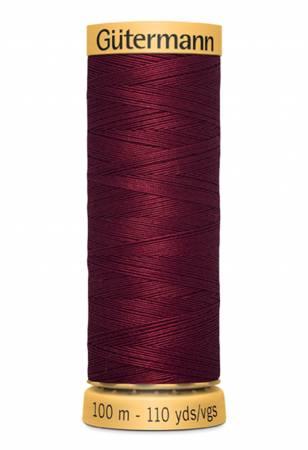 Natural Cotton Thread 109 yds Wine 4780
