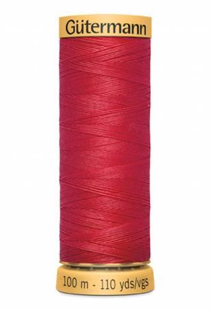 Natural Cotton Thread 100m/109yds Light Red