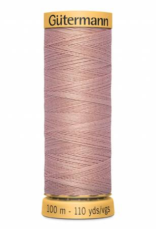 Natural Cotton Thread 100m/109yds Coral Rose