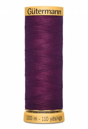 Natural Cotton Thread 100m/109yds Mulberry