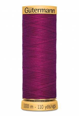 Natural Cotton Thread 100m/109yds Magenta