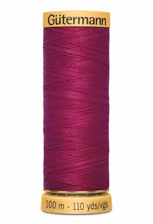Natural Cotton Thread 100m/109yds Cranberry