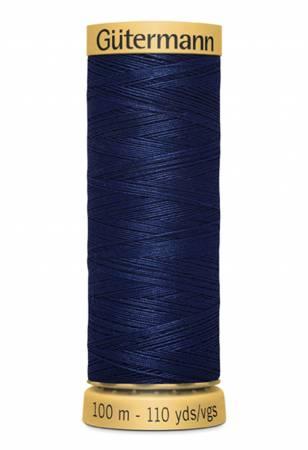 Natural Cotton Thread 100m/109yds Navy