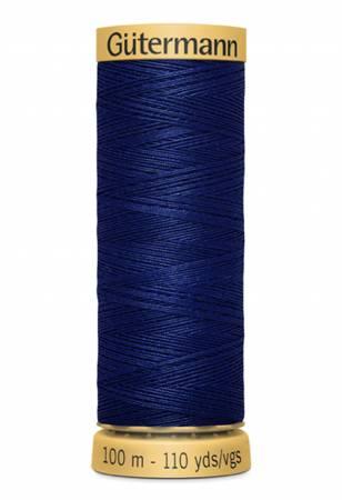 Natural Cotton Thread 100m/109yds Admiral Blue