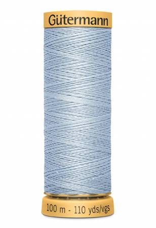 Natural Cotton Thread 100m/109yds Chambray
