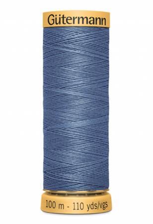 Natural Cotton Thread 100m/109yds Dark Azure