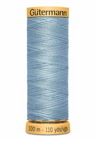 Natural Cotton Thread 100m/109yds Gulfstream Blue