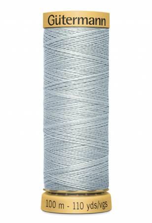 Natural Cotton Thread 100m/109yds Misty Blue