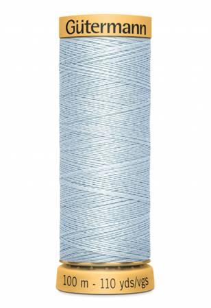 Natural Cotton Thread 100m/109yds Pale Blue