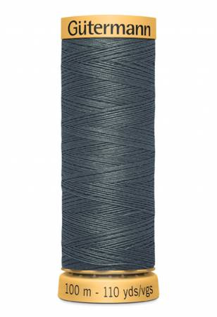 Natural Cotton Thread 100m/109yds Black Teal