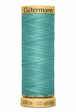 Natural Cotton Thread 100m/109yds Teal Green