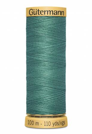 Natural Cotton Thread 100m/109yds Field Green