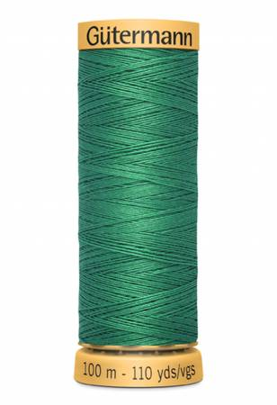 Natural Cotton Thread 100m/109yds Bright Green