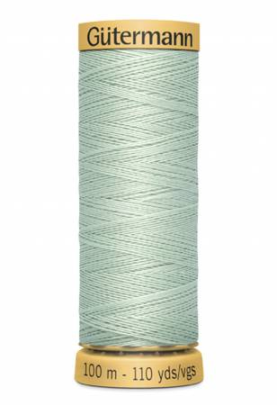 Natural Cotton Thread 100m/109yds Pale Green
