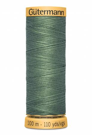 8050 Gutermann Natural Cotton Thread 100m/109yds Ivy Green