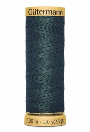 Natural Cotton Thread 100m/109yds Dark Spinach