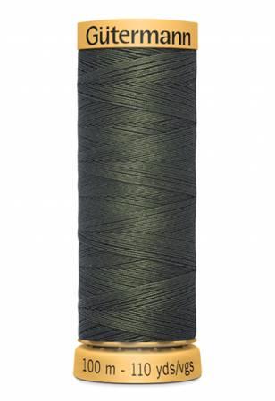 Natural Cotton Thread 100m/109yds Spruce