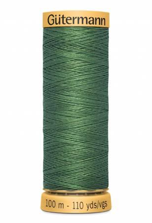 Natural Cotton Thread 100m/109yds Emerald
