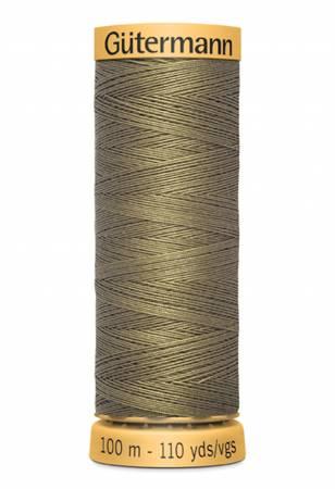 Natural Cotton Thread 100m/109yds Sage