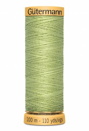 Natural Cotton Thread 100m/109yds Nile Green