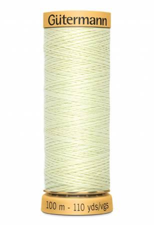 Natural Cotton Thread 100m/109yds Celery