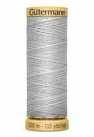 Natural Cotton Thread 100m/109yds Light Nickel