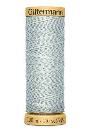 Natural Cotton Thread 100m/109yds Silver