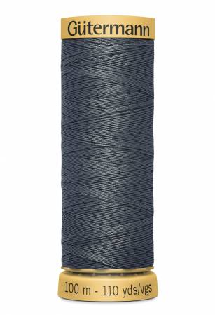 Natural Cotton Thread 100m/109yds Graphite