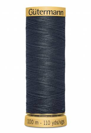 Natural Cotton Thread 109 yds Dark Charcoal 9800