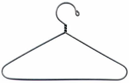6in Hook Top with Open Center Hanger