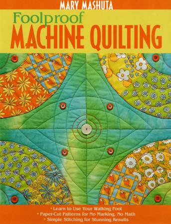 Foolproof Machine Quilting - Softcover