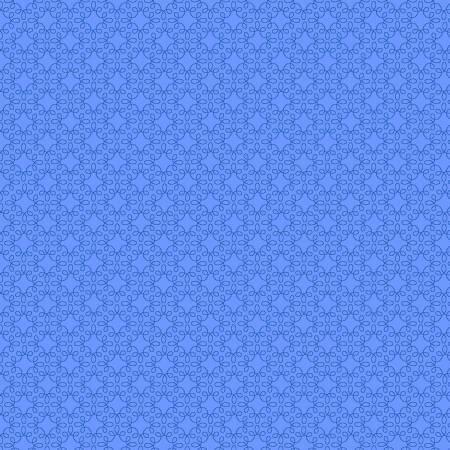 True Blue Filagree Geo