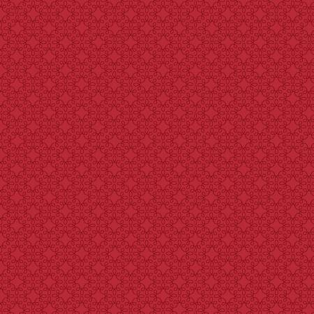 Modern Melody Basics Crimson Red Filagree Geo 1063-88