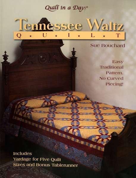 Tennessee Waltz Quilt - Softcover Book - Sue Bouchard - 9781891776151