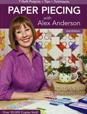 Paper Piecing with Alex Anderson - 10768