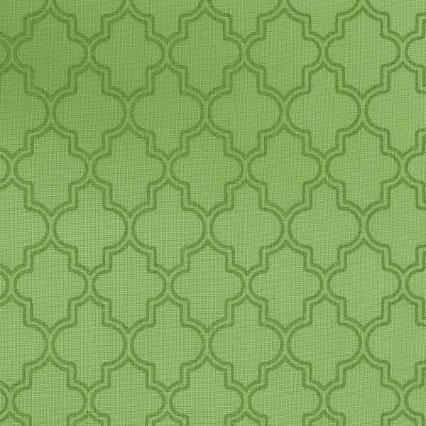 MAS PEARL ESSENCE Green Quatrefoil
