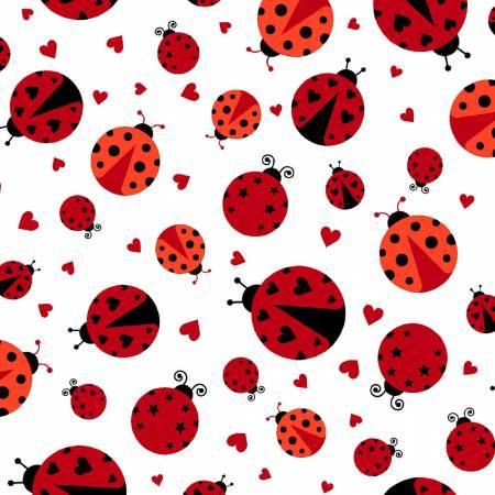 Flannel Lady Bugs
