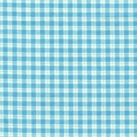 Turquoise Plaid Flannel