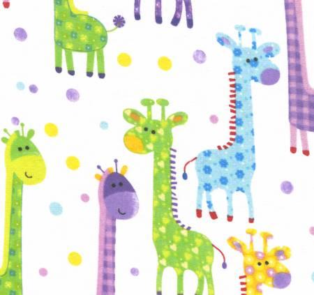 Giraffes Flannel 1083601