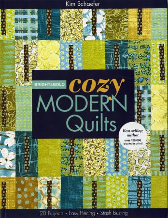 Bright & Bold Cozy Modern Quilts - Softcover