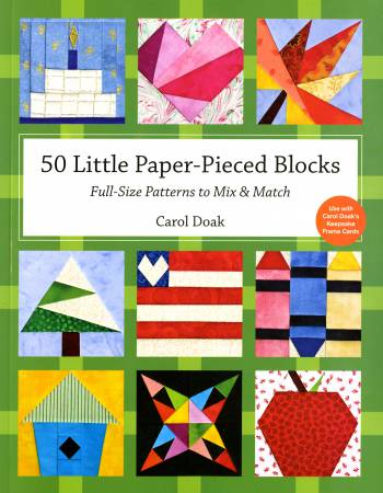 50 Little Paper-Pieced Blocks - Softcover - 10858