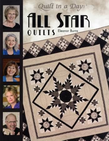 1087QD All Star Quilts - Softcover
