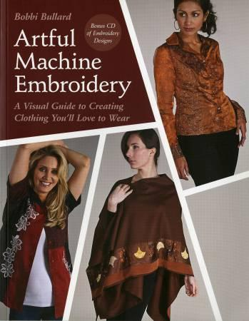Artful Machine Embroidery - Softcover