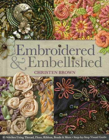 Embroidered & Embellished - Softcover