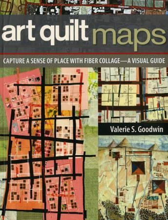 Art Quilt Maps - Softcover
