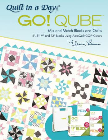 GO! Qube - Mix and Match Blocks and Quilts Book