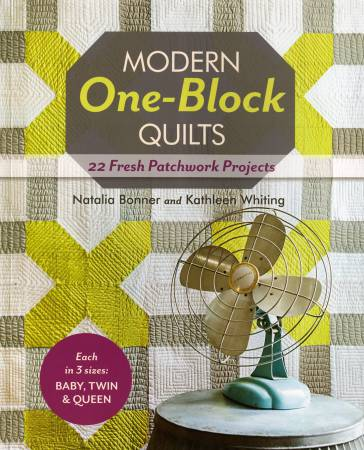 Modern One-Block Quilts - Softcover