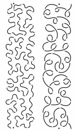 Loop And Stipple Sashing 3in